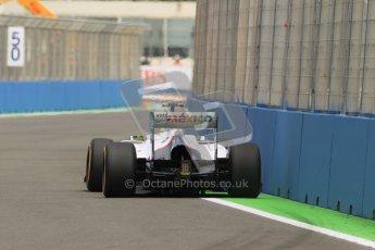 © 2012 Octane Photographic Ltd. European GP Valencia - Friday 22nd June 2012 - F1 Practice 2. Sauber C31 - Sergio Perez. Digital Ref : 0368lw1d3914