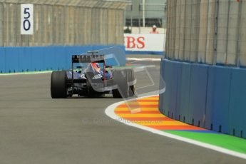 © 2012 Octane Photographic Ltd. European GP Valencia - Friday 22nd June 2012 - F1 Practice 2. Red Bull RB8 - Mark Webber. Digital Ref : 0368lw1d3924