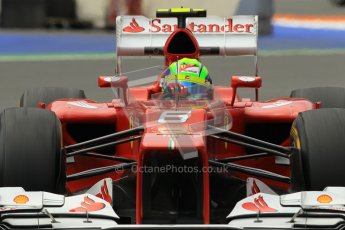 © 2012 Octane Photographic Ltd. European GP Valencia - Friday 22nd June 2012 - F1 Practice 2. Ferrari F2012 - Felipe Massa. Digital Ref : 0368lw1d4034