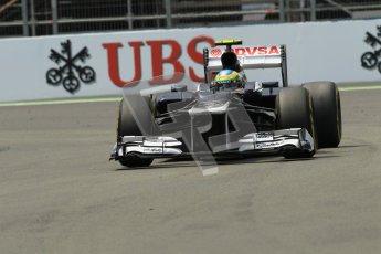 © 2012 Octane Photographic Ltd. European GP Valencia - Friday 22nd June 2012 - F1 Practice 2. Williams FW34 - Bruno Senna. Digital Ref : 0368lw1d4196