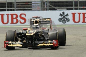 © 2012 Octane Photographic Ltd. European GP Valencia - Friday 22nd June 2012 - F1 Practice 2. Lotus E20 - Kimi Raikkonen. Digital Ref : 0368lw1d4218