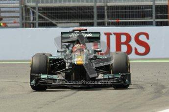 © 2012 Octane Photographic Ltd. European GP Valencia - Friday 22nd June 2012 - F1 Practice 2. Caterham CT01 - Heikki Kovalainen. Digital Ref : 0368lw1d4230