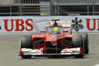 © 2012 Octane Photographic Ltd. European GP Valencia - Friday 22nd June 2012 - F1 Practice 2. Ferrari F2012 - Felipe Massa. Digital Ref : 0368lw1d4281