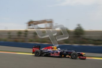 © 2012 Octane Photographic Ltd. European GP Valencia - Friday 22nd June 2012 - F1 Practice 2. Red Bull RB8 - Sebastian Vettel. Digital Ref : 0368lw7d0656
