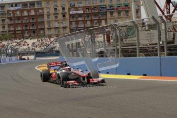 © 2012 Octane Photographic Ltd. European GP Valencia - Friday 22nd June 2012 - F1 Practice 2. McLaren MP4/27 - Jenson Button. Digital Ref : 0368lw7d0782