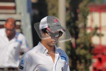 © 2012 Octane Photographic Ltd. European GP Valencia - Sunday 24th June 2012 - F1 Paddock. Sauber - Sergio Perez. Digital Ref : 0373lw1d5962