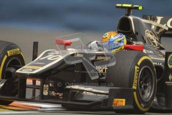 © 2012 Octane Photographic Ltd. European GP Valencia - Friday 22nd June 2012 - GP2 Practice - Lotus GP - Esteban Gutierrez. Digital Ref : 0369lw7d0391