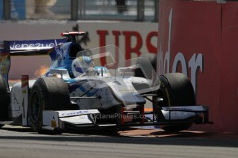 © 2012 Octane Photographic Ltd. European GP Valencia - Saturday 23rd June 2012 - GP2 Race 1 - Dams - Felipe Nasr. Digital Ref : 0372lw7d1889
