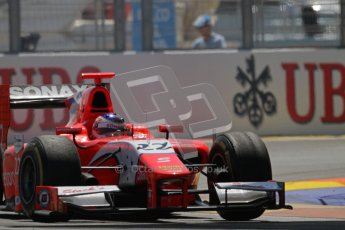 © 2012 Octane Photographic Ltd. European GP Valencia - Saturday 23rd June 2012 - GP2 Race 1 - Arden International - Simon Trummer. Digital Ref : 0372lw7d1941