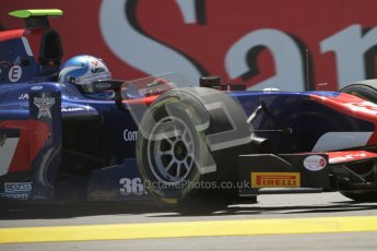 © 2012 Octane Photographic Ltd. European GP Valencia - Saturday 23rd June 2012 - GP2 Race 1 - iSport International - Jolyon Palmer. Digital Ref : 0372lw7d1978