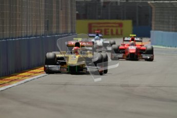 © 2012 Octane Photographic Ltd. European GP Valencia - Saturday 23rd June 2012 - GP2 Race 1 - Dams - Felipe Nasr. Digital Ref : 0372lw7d2129