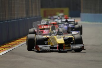 © 2012 Octane Photographic Ltd. European GP Valencia - Saturday 23rd June 2012 - GP2 Race 1 - Dams - Davide Valsecchi. Digital Ref : 0372lw7d2266