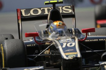 © 2012 Octane Photographic Ltd. European GP Valencia - Saturday 23rd June 2012 - GP2 Race 1 - Lotus GP - Esteban Gutierrez. Digital Ref : 0372lw7d2497