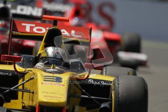 © 2012 Octane Photographic Ltd. European GP Valencia - Saturday 23rd June 2012 - GP2 Race 1 - Dams - Davide Valsecchi. Digital Ref : 0372lw7d2550