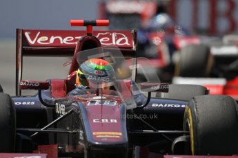 © 2012 Octane Photographic Ltd. European GP Valencia - Saturday 23rd June 2012 - GP2 Race 1 - Venezuela GP Lazarus - Fabrizio Crestani. Digital Ref : 0372lw7d2571