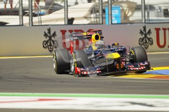 © 2012 Octane Photographic Ltd. European GP Valencia - Saturday 23rd June 2012 - F1 Practice 3. Red Bull RB8 - Mark Webber. Digital Ref : 0371lw1d4946