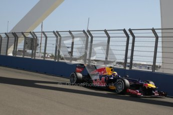 © 2012 Octane Photographic Ltd. European GP Valencia - Saturday 23rd June 2012 - F1 Practice 3. Red Bull RB8 - Mark Webber. Digital Ref : 0371lw7d1226