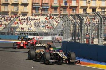 © 2012 Octane Photographic Ltd. European GP Valencia - Sunday 24th June 2012 - GP2 Race 2 - Lotus GP - James Calado. Digital Ref : 0375lw1d6117