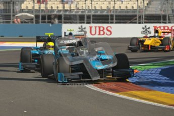 © 2012 Octane Photographic Ltd. European GP Valencia - Sunday 24th June 2012 - GP2 Race 2 - Ocean Racing Technology - Victor Guerin and Nigel Melker. Digital Ref :0375lw1d6149