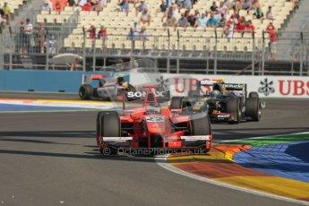© 2012 Octane Photographic Ltd. European GP Valencia - Sunday 24th June 2012 - GP2 Race 2 - Arden International - Simon Trummer. Digital Ref : 0375lw1d6189