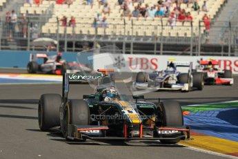 © 2012 Octane Photographic Ltd. European GP Valencia - Sunday 24th June 2012 - GP2 Race 2 - Caterham Racing - Rodolfo Gonzalez. Digital Ref : 0375lw1d6192