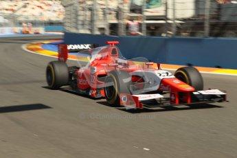 © 2012 Octane Photographic Ltd. European GP Valencia - Sunday 24th June 2012 - GP2 Race 2 - Arden International - Simon Trummer. Digital Ref : 0375lw1d6374