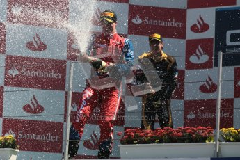© 2012 Octane Photographic Ltd. European GP Valencia - Sunday 24th June 2012 - GP2 Race 2 Podium - Luiz Razia - Arden International. Digital Ref : 0375lw1d6674