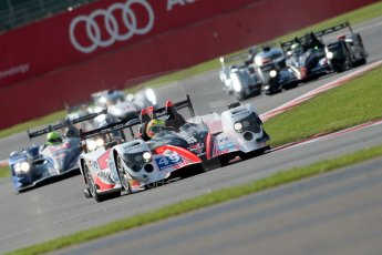 © Chris Enion/Octane Photographic Ltd. FIA WEC Qualifying – Silverstone. Saturday 25th August 2012. Oreca 03-Nissan - Pecom racing (Luis Perez-Companc, Pierre Kaffer and Soheil Ayari) ahead of the pack. Digital ref : 0471ce1d0237