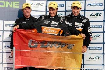 © Chris Enion/Octane Photographic Ltd. FIA WEC Podium – Silverstone. Sunday 26th August 2012. Digital ref : 0477ce1d0253
