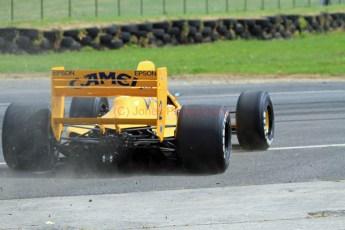 © Jones Photography 2012. 2nd June 2012 - Steve Griffiths, 1989 Lotus 101, Pembrey, Welsh Motorsport Festival. Digital Ref : 0366CJ0955