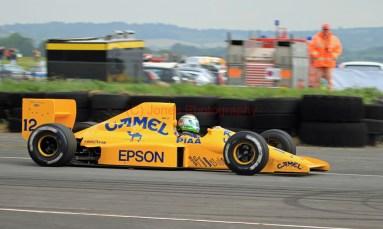 © Jones Photography 2012. 2nd June 2012 - Steve Griffiths, 1989 Lotus 101, Pembrey, Welsh Motorsport Festival. Digital Ref : 0366CJ0968