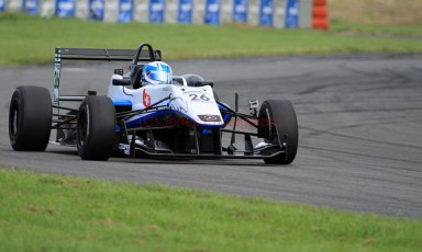 © Jones Photography 2012. 2nd June 2012 - Rupert Svendsen-Cook, Double R Formula 3, 2012 Dallara, Pembrey, Welsh Motorsport Festival. Digital Ref : 0366CJ1025