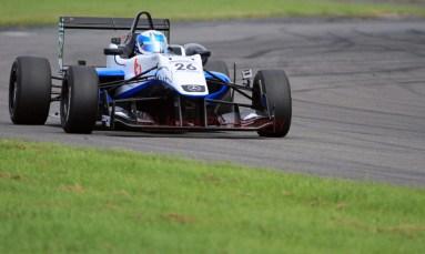 © Jones Photography 2012. 2nd June 2012 - Rupert Svendsen-Cook, Double R Formula 3, 2012 Dallara, Pembrey, Welsh Motorsport Festival. Digital Ref : 0366CJ1102