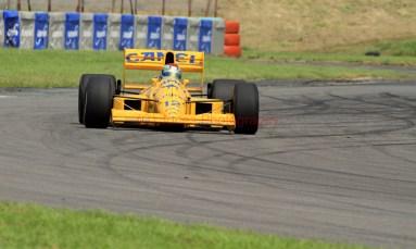 © Jones Photography 2012. 2nd June 2012 - Steve Griffiths, 1989 Lotus 101, Pembrey, Welsh Motorsport Festival. Digital Ref : 0366CJ1195