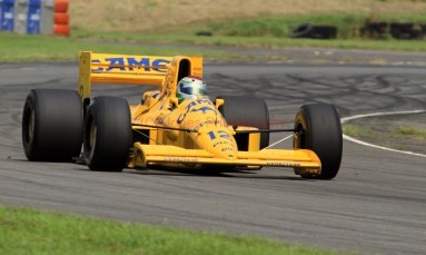 © Jones Photography 2012. 2nd June 2012 - Steve Griffiths, 1989 Lotus 101, Pembrey, Welsh Motorsport Festival. Digital Ref : 0366CJ1213