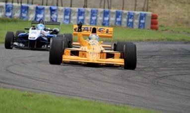 © Jones Photography 2012. 2nd June 2012 - Steve Griffiths, 1989 Lotus 101, Pembrey, Welsh Motorsport Festival. Digital Ref : 0366CJ1655