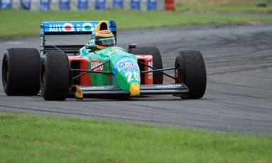 © Jones Photography 2012. 2nd June 2012 - John Reaks, 1990 Benetton B190, Pembrey, Welsh Motorsport Festival. Digital Ref : 0366CJ1675