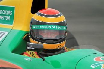 © Jones Photography 2012. 2nd June 2012 - John Reaks, 1990 Benetton B190, Pembrey, Welsh Motorsport Festival. Digital Ref : 0366CJ1756