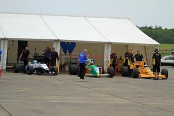 © Jones Photography 2012. 2nd June 2012 - Formula 3 and Formula 1 cars, Pembrey, Welsh Motorsport Festival. Digital Ref : 0366CJ2120