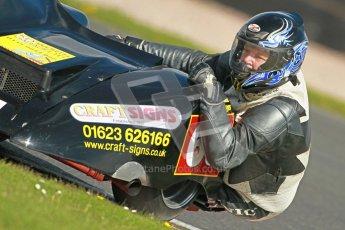 © Octane Photographic Ltd. Wirral 100, 28th April 2012. ACU/FSRA British F2 Sidecars Championship. Mark Saunders/Simon Briggs - Windle Suzuki. Free Practice.  Digital ref : 0310cb1d4308