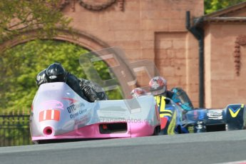 © Octane Photographic Ltd. Wirral 100, 28th April 2012. ACU/FSRA British F2 Sidecars Championship. Peter Alton/Keith Brotherton - OTC Baker. Race. Digital ref : 0310cb1d5416