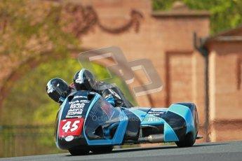 © Octane Photographic Ltd. Wirral 100, 28th April 2012. ACU/FSRA British F2 Sidecars Championship. Dave Atkinson/Phil Knapton - LCR Suzuki. Race. Digital ref : 0310cb1d5441