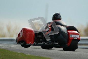 © Octane Photographic Ltd. Wirral 100, 28th April 2012. ACU/FSRA British F2 Sidecars Championship. Russ Pearce/Rod Pearce - LCR Suzuki. Race. Digital ref : 0310cb1d5479