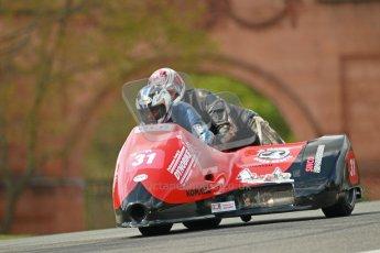 © Octane Photographic Ltd. Wirral 100, 28th April 2012. ACU/FSRA British F2 Sidecars Championship. Race. Nicholas Dukes/William Moralee - BLR. Digital ref : 0310cb1d5512