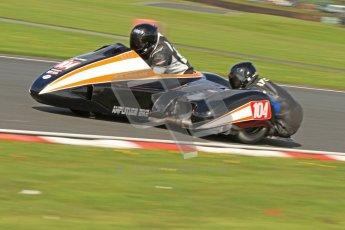 © Octane Photographic Ltd. Wirral 100, 28th April 2012. ACU/FSRA British F2 Sidecars Championship. Frank Lelias/Mike Aylott - LCR Suzuki. Free Practice.  Digital ref : 0310cb7d8744