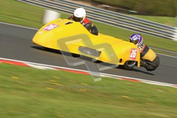 © Octane Photographic Ltd. Wirral 100, 28th April 2012. ACU/FSRA British F2 Sidecars Championship. Gordan Shand/Tony Belsey - Shand. Free Practice.  Digital ref : 0310cb7d8796