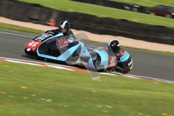 © Octane Photographic Ltd. Wirral 100, 28th April 2012. ACU/FSRA British F2 Sidecars Championship. Dave Atkinson/Phil Knapton - LCR Suzuki. Free Practice.  Digital ref : 0310cb7d8843