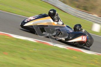 © Octane Photographic Ltd. Wirral 100, 28th April 2012. ACU/FSRA British F2 Sidecars Championship. Frank Lelias/Mike Aylott - LCR Suzuki. Free Practice.  Digital ref : 0310cb7d8850