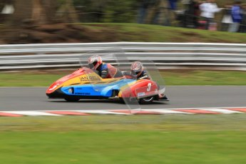© Octane Photographic Ltd. Wirral 100, 28th April 2012. ACU/FSRA British F2 Sidecars Championship. Ian Bell/Carl Bell - LCR Yamaha. Qualifying.  Digital ref : 0310cb7d9068
