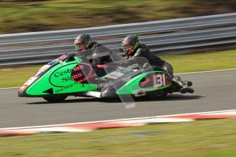 © Octane Photographic Ltd. Wirral 100, 28th April 2012. ACU/FSRA British F2 Sidecars Championship. Paul Bateman/Neil Gregory - Windle Suzuki. Race. Digital ref : 0310cb7d9196